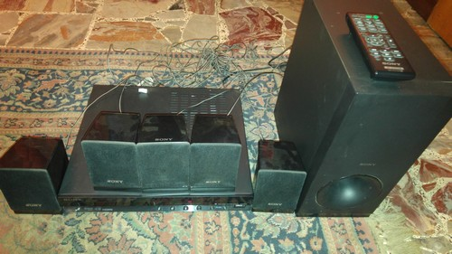 Home theatre Sony 5.1 con subwoofer
