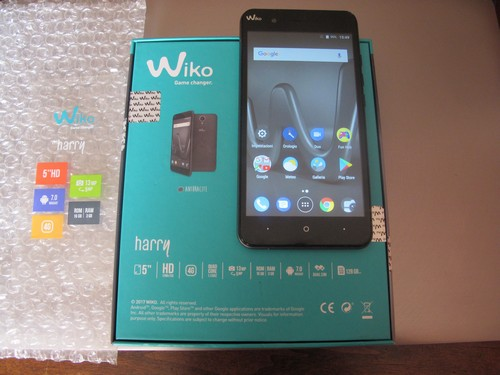 Wiko Harry dual sim 16 GB colore antracite