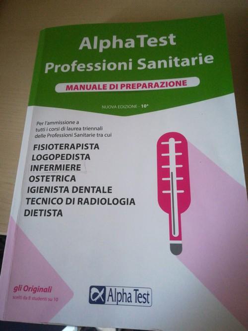Alpha test professioni sanitarie 2020
